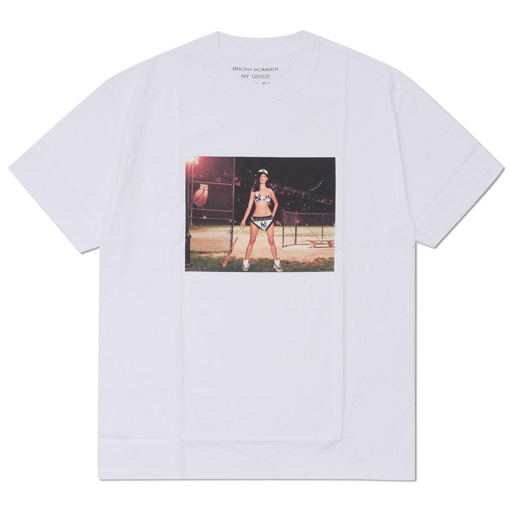 Ron Herman (LONDON HEARTS man) BRONX BOMBER Photo TEE (T-shirt) WHITE 200-007713-050-