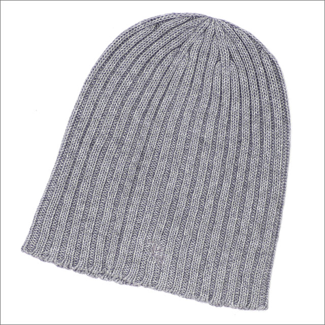 Ron Herman(ロンハーマン) COTTON & CASHMERE BEANIE (ビーニー) GRAY 253-000442-012-【新品】