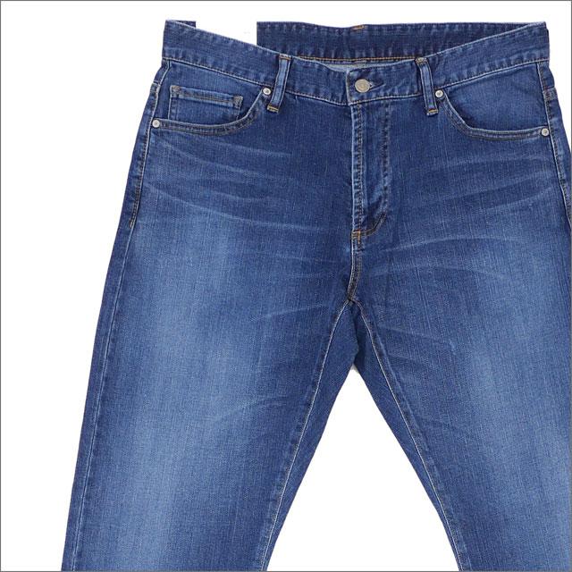 Ron Herman(ロンハーマン) Edit Regular Type Washed Denim Pants (デニムパンツ) 2720600211 BLUE 240-001428-534-【新品】