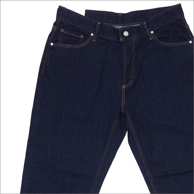 Ron Herman(ロンハーマン) Edit Wide Type One Wash Denim Pants (デニムパンツ) 2720600212 NAVY 240-001432-547-【新品】