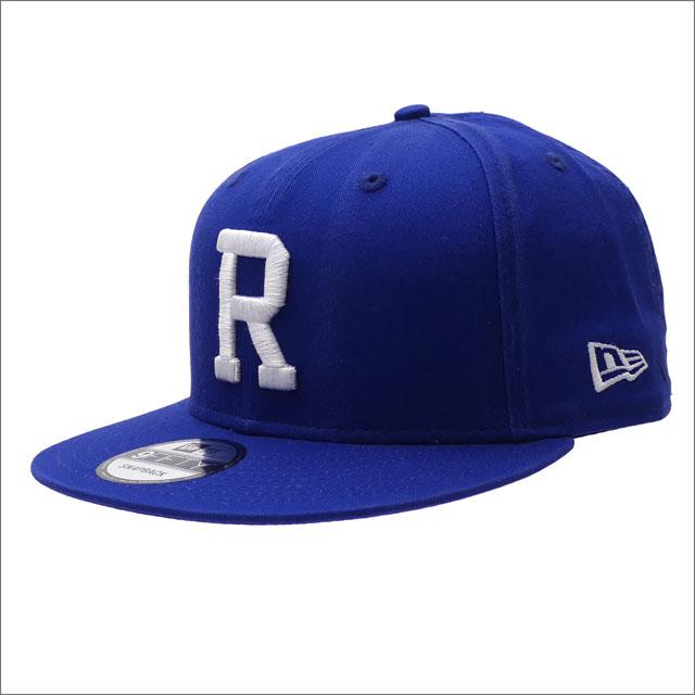 RHC Ron Herman(ロンハーマン) x New Era(ニューエラ) R 9FIFTY SNAPBACK (スナップバック)(キャップ) BLUE 250-000435-014+【新品】