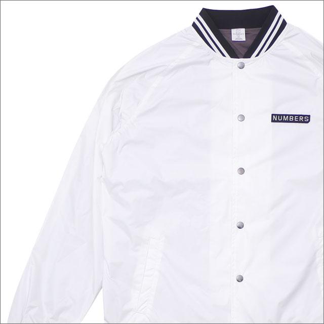 Numbers (ナンバーズ) x RHC Ron Herman (ロンハーマン) STADIUM JKT (ジャケット) WHITE 225-000347-040x【新品】
