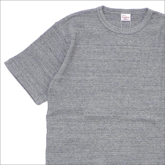Ron Herman(ロンハーマン) x Healthknit(ヘルスニット) Thermal S/S Tee (Tシャツ) GRAY 203-000274-052-【新品】