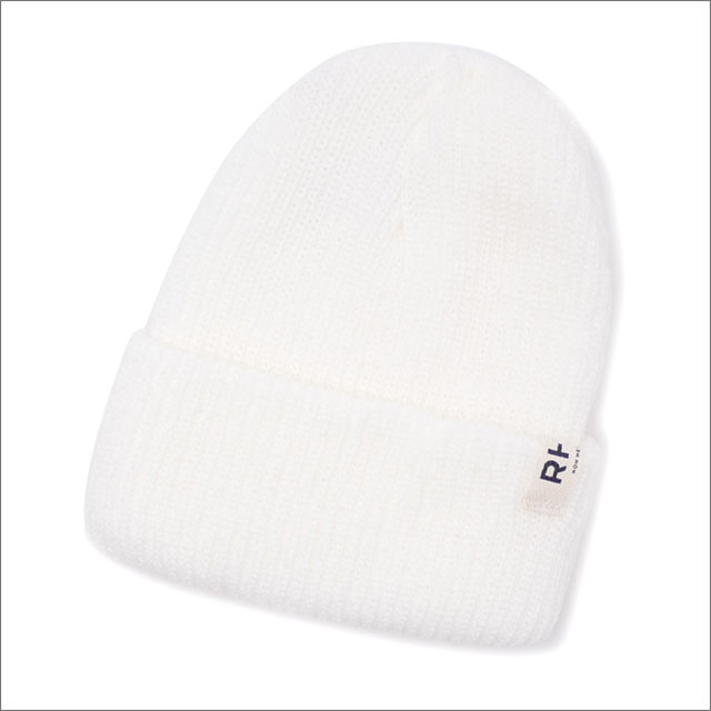 RHC Ron Herman(ロンハーマン) ACRYLIC KNIT CAP (ビーニー) WHITE 253-000447-010+【新品】