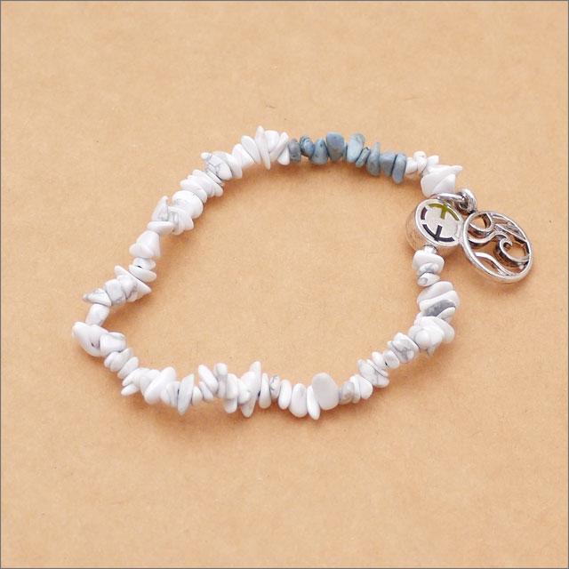 EQUALIZE(イコライズ) Ron Herman(ロンハーマン) 取り扱い Wave Bead Bracelet (ブレスレット) WHITE 269-000338-010+【新品】