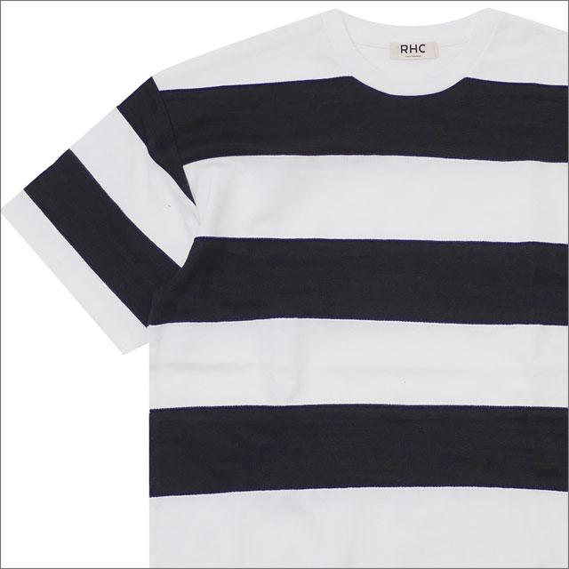 ロンハーマン RHC Ron Herman Wide Border Tee Tシャツ WHITExBLACK 200007814041 【新品】
