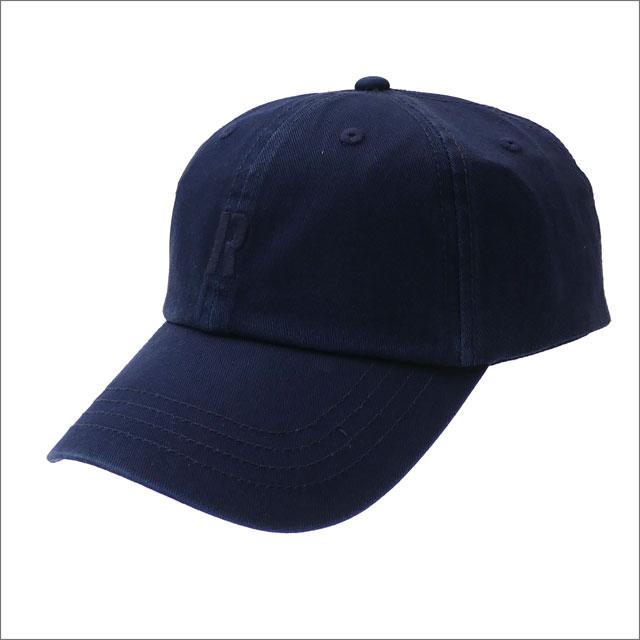 RHC Ron Herman(ロンハーマン) R CAP (キャップ) NAVY 265-001029-017+【新品】