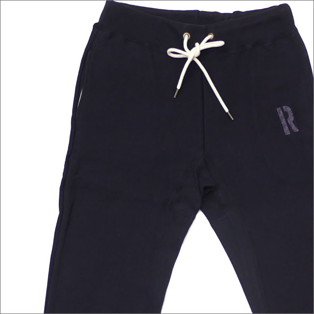 RHC Ron Herman(ロンハーマン) R Logo Sweat Pants (スウェットパンツ) NAVY 243-000154-037+【新品】