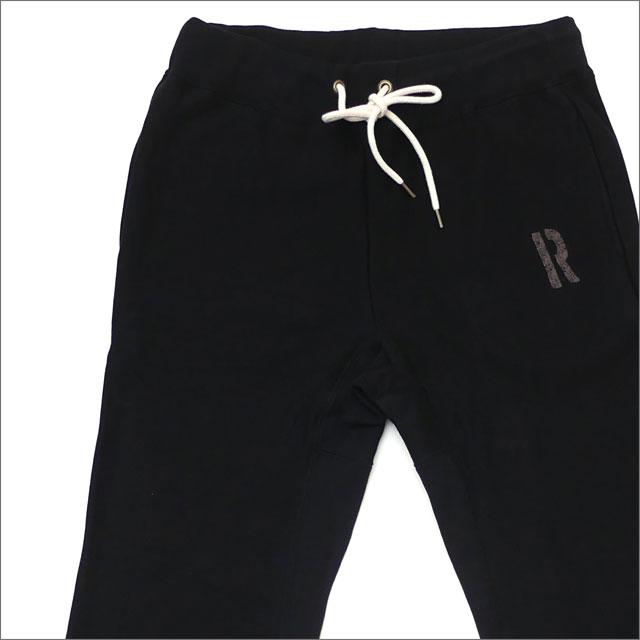 RHC Ron Herman(ロンハーマン) R Logo Sweat Pants (スウェットパンツ) BLACK 243-000154-031+【新品】
