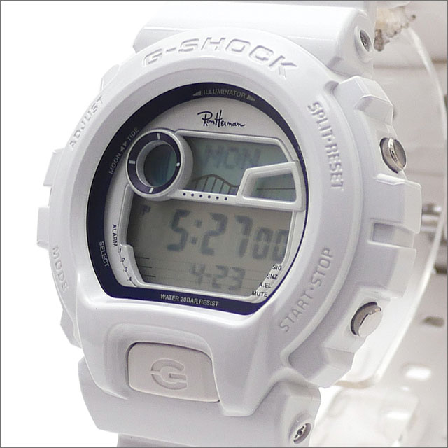 Ron Herman(ロンハーマン) x CASIO(カシオ) G-SHOCK GLX-6900-1JF (ジーショック)(腕時計) WHITE 287-000215-010x【新品】