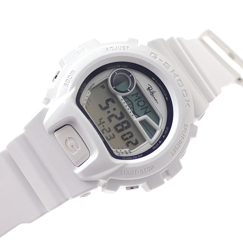 [次回のお買い物で使える500円OFFクーポン配布中!! 4/30(火)まで!!] ロンハーマン Ron Herman x CASIO カシオ GSHOCK GLX69001JF ジーショック 腕時計 WHITE 287000215010 【新品】