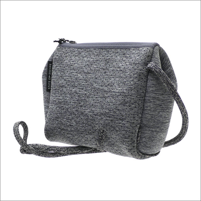 RHC Ron Herman(ロンハーマン) x State of Escape(ステイトオブエスケープ) Festival Mini Crossbody Bag CHALCOAL 277-002503-012+【新品】