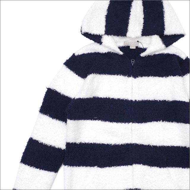 BAREFOOT DREAMS for Ron Herman (ベアフットドリームス)(ロンハーマン) Men's Striped Hoodie (パーカー) NAVY 212-001021-047x【新品】