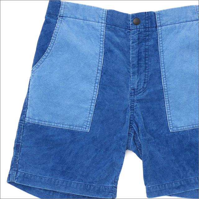 RHC Ron Herman(ロンハーマン) Indigo Corduroy Shorts (ショーツ) BLUE 244-000752-044x【新品】