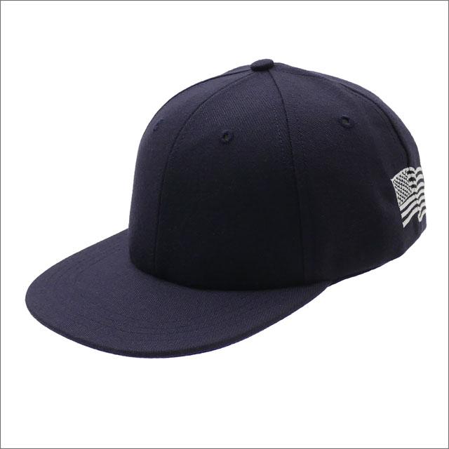 Ron Herman(ロンハーマン) x Cooperstown Ball Cap(クーパーズタウン) FLAG CAP (キャップ) NAVY 265-001045-017x【新品】