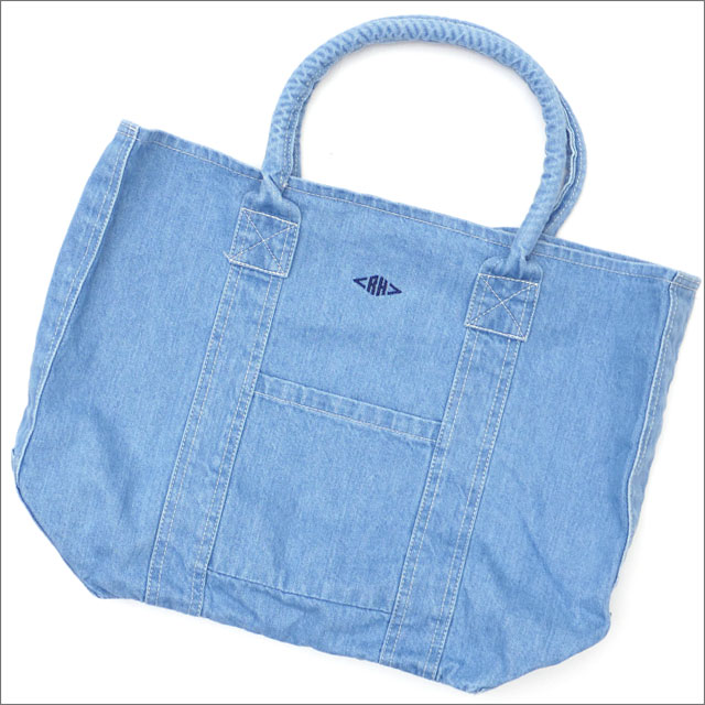 Ron Herman(ロンハーマン) Denim RH Tote Bag (トートバッグ) LT.INDIGO 277-002509-014x【新品】