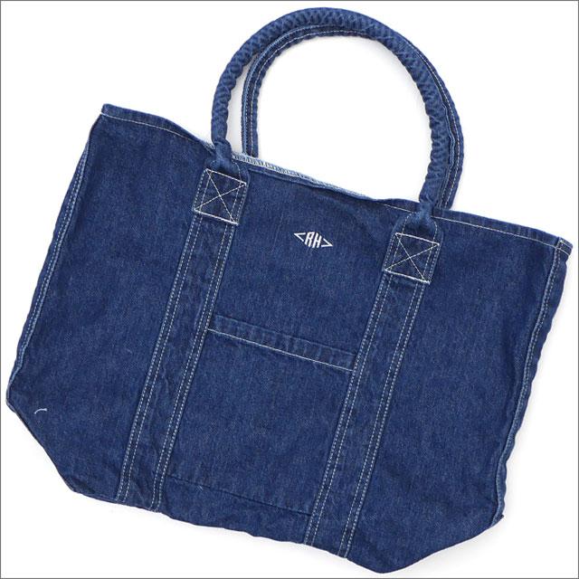 Ron Herman(ロンハーマン) Denim RH Tote Bag (トートバッグ) INDIGO 277-002509-017x【新品】