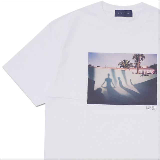 Ron Herman(ロンハーマン) x BLOW(ブロー) POOL TEE (Tシャツ) WHITE 200-007861-050+【新品】