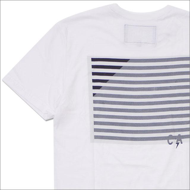 Ron Herman(ロンハーマン) C.I.A. Flag Tee (Tシャツ) WHITE 200-007875-040x【新品】