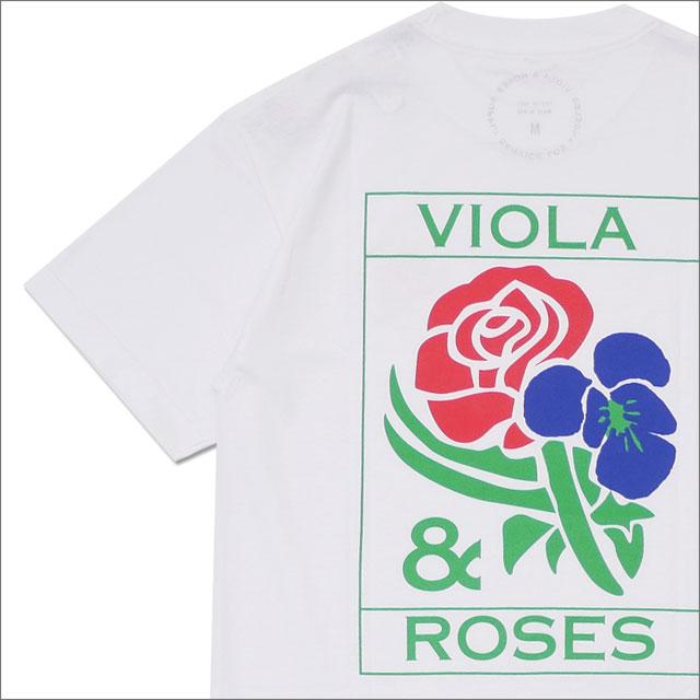 RHC Ron Herman(ロンハーマン) VIOLA&ROSES(ビオラ&ローゼス) V&R TEE TYPE 0 AT002 (Tシャツ) WHITE 200-007893-040+【新品】