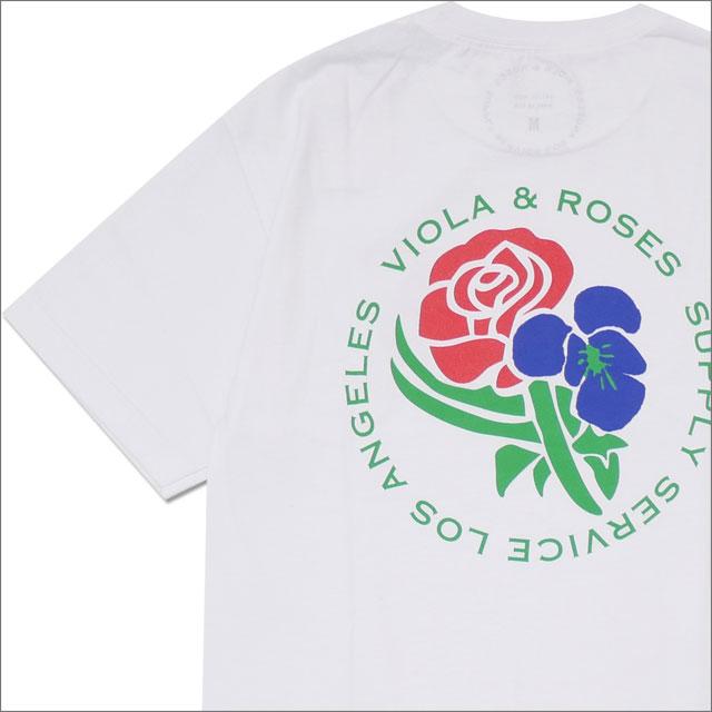 RHC Ron Herman(ロンハーマン) VIOLA&ROSES(ビオラ&ローゼス) V&R TEE TYPE 0 AT001 (Tシャツ) WHITE 200-007892-040+【新品】