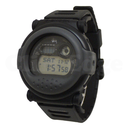 "STUSSY(스테시) x Casio G-SHOCK G-001 ""JASON"" BLACKxGRAY 287-000132-012 x"
