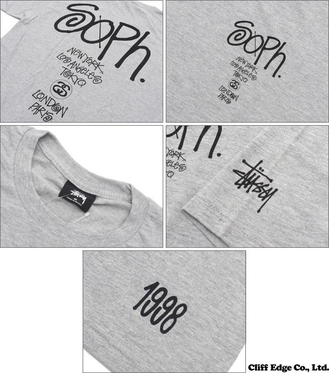 STUSSY SOPHNET. World Tour TEE (T shirt) 200-006517-040 +