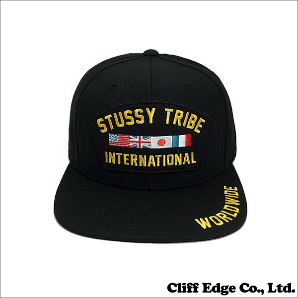 STUSSY (Stussy) 620-002967-011 STY694 BLACK VETERANS SNAPBACK (snap back  CAP) + f80817c2edd