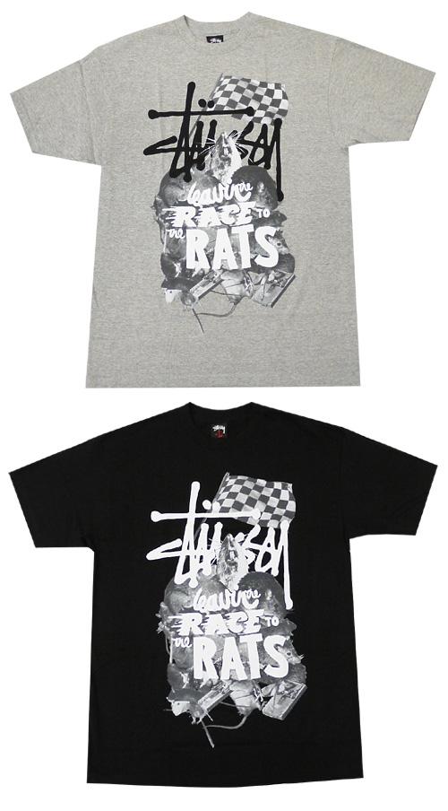 STUSSY(스테시) RATS T셔츠200-002734-041 [저희 가게 통상 가격 9240엔의 곳]