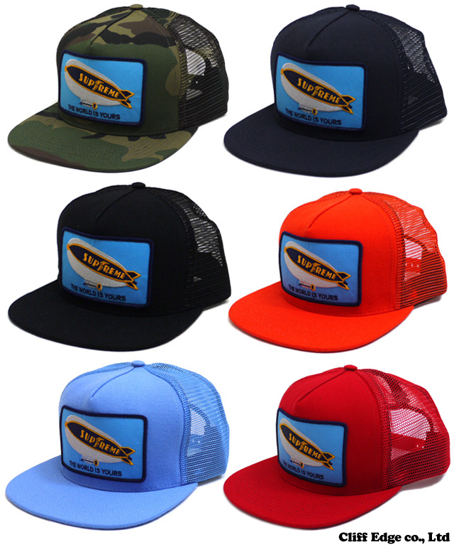 ▼ SUPREME Blimp 5-Panel Cap [모자] 251-000541-015 353-000053-014 252-000171-013 365-000053-114 +