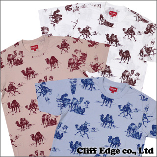 SUPREME Camels T셔츠 BLUE/PINK/WHITE 200-004513-040-