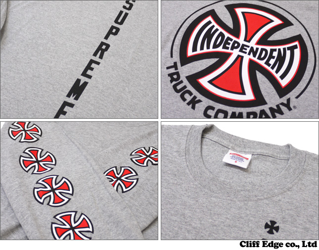 • An Independent SUPREME x long sleeve T shirt 202-000517-032 302 - 000019 - 053x