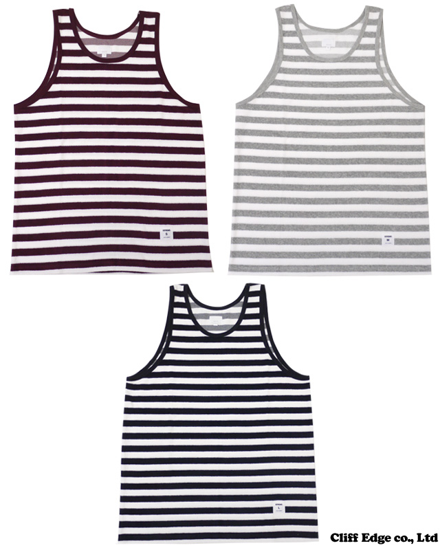 SUPREME Terry Tank Top[短袖汗衫]BURGUNDY/GRAY/BLACK 205-000101-042-