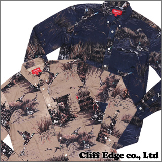 SUPREME Dogs & Ducks 긴소매 셔츠216-000850-046-
