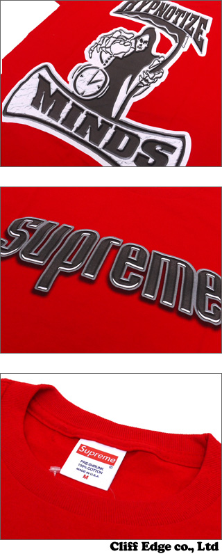 SUPREME Hypnotize Minds T셔츠 200-004982-031 x
