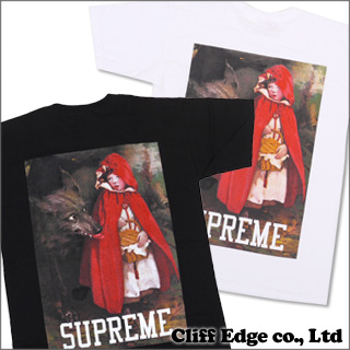 SUPREME Red Riding Hood T셔츠 200-004988-030 x
