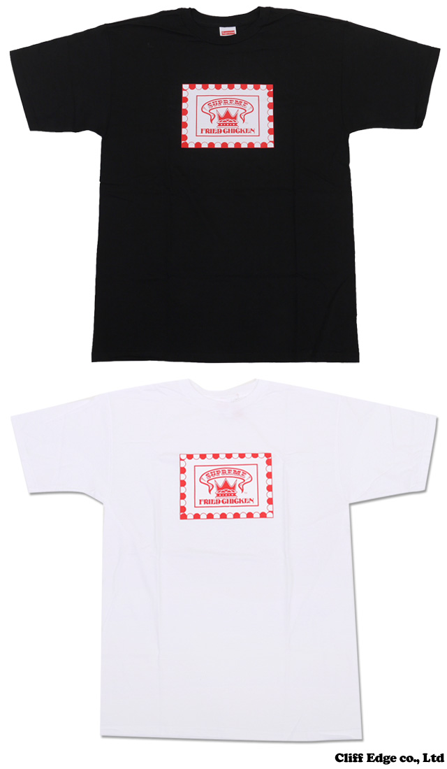 SUPREME Fried Chicken T셔츠 200-004987-041 x