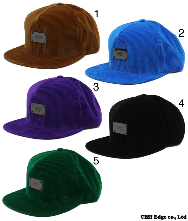 SUPREME Metal Plate 5-Panel Cap 265-000313-011-