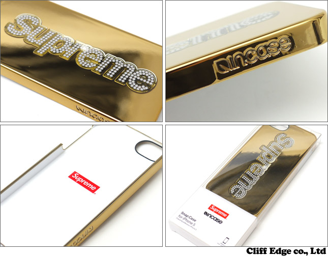 SUPREME Incase Bling Logo iphone 5 Case[iPhone情况]290-002580-018-