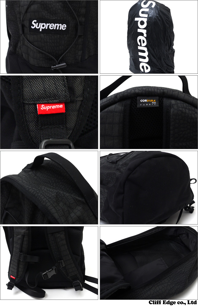 SUPREME Croc Backpack [백 팩] 290-002583-011 276-000173-013-