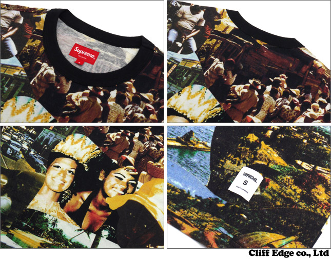 SUPREME Kingston Tee [T셔츠] MULTI 200-005414-059+