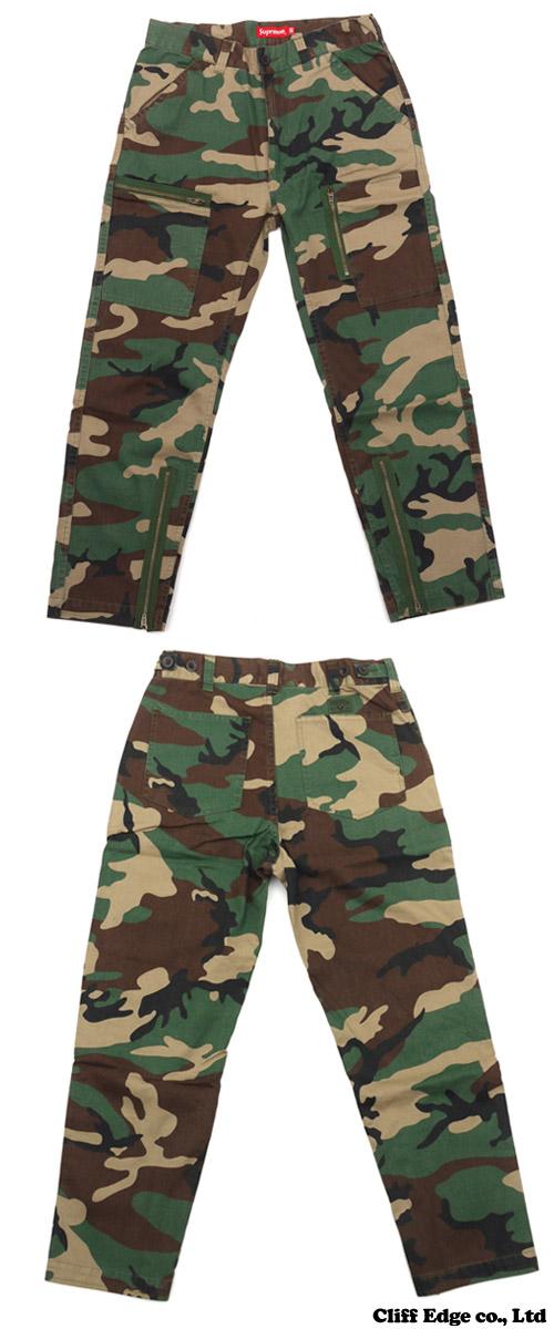 [shupurimu SALE!!]]SUPREME Flight Pant(裤子)Woodland Camo 241-000060-035+