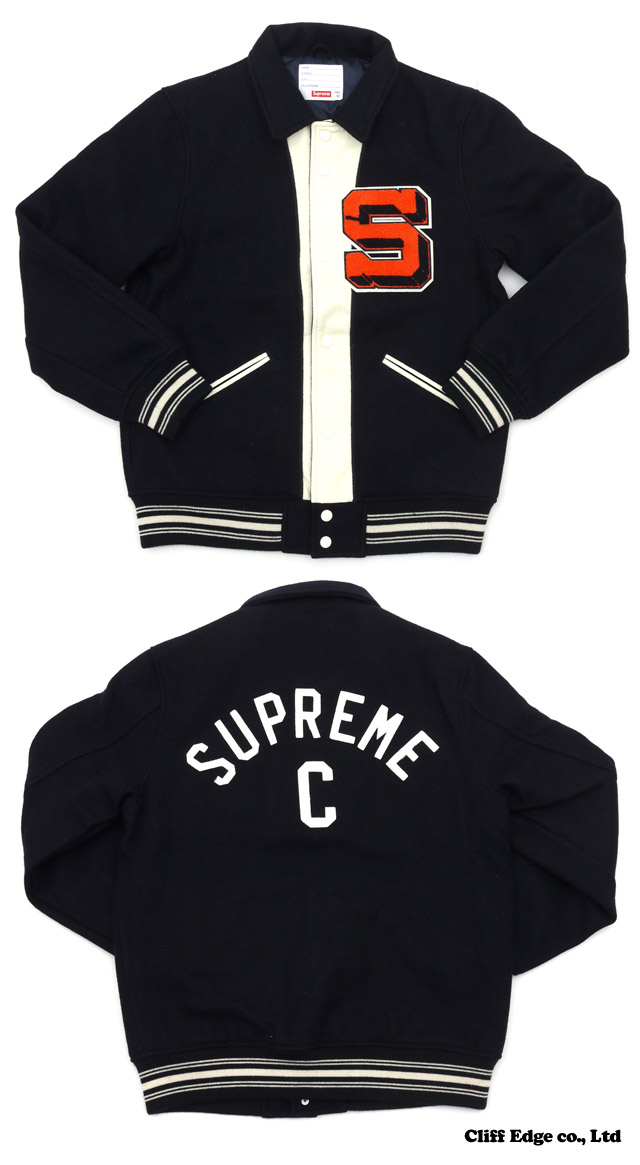Captain varsity jacket black