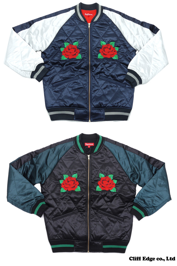 SUPREME Quilted Satin Bomber(재킷) 225-000177-037 x