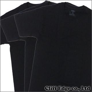 【合計15,000円(税抜)以上のお買い上げでステッカープレゼント!】 SUPREME x Hanes Tagless Tee 3-pack(Tシャツ3枚セット) BLACK 200-005622-031x【新品】