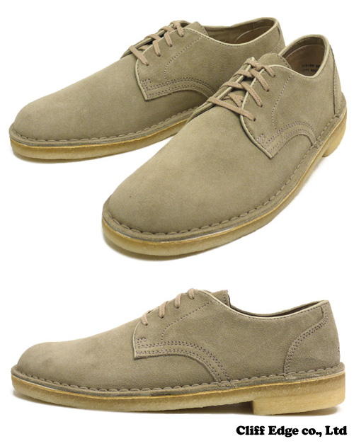 SUPREME x Clarks Desert Mali Low [부츠] SAND SUEDE 294-000035-306-