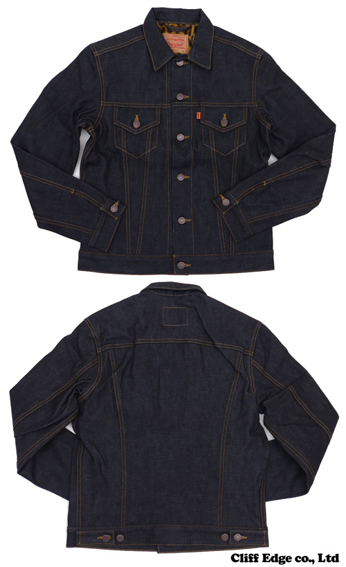 SUPREME x Levi 's Selvedge Denim Trucker Jacket [데님 자 켓] INDIGO 224-000056-037-