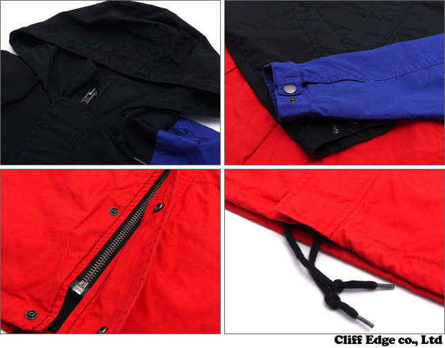 SUPREME Panelled Parka [재킷] BLACK 212-000791-041-