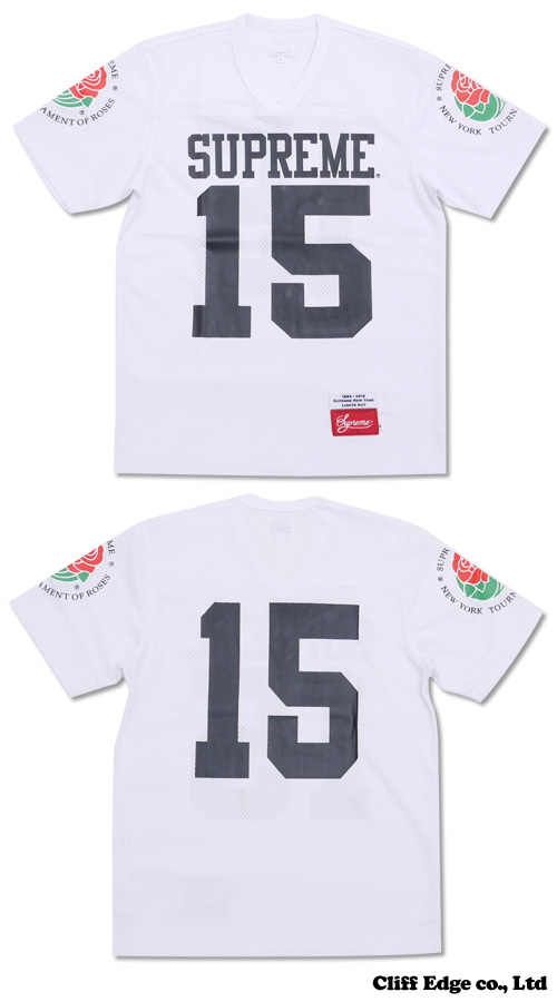 SUPREME Roses Football Top WHITE 200-005250-040-