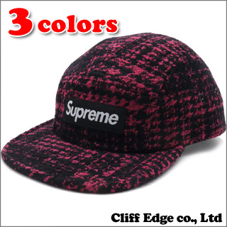 SUPREME Broken Houndstooth Camp Cap (캠프 캡) 265-000428-015+